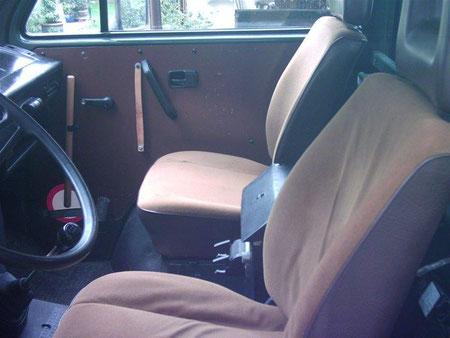 VW T3 Fahrer- und Beifahrersitz