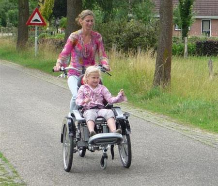 Dreirad für Erwachsene Harz