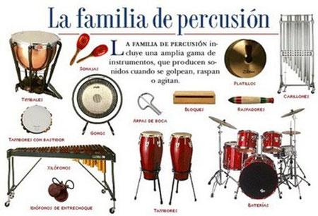 FAMILIA DE LA PERCUSIÓN