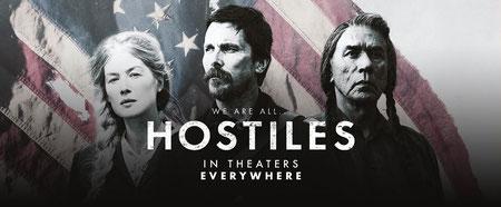 Feinde - Hostiles Poster Rosamund Pike Christian Bale Wes Studi