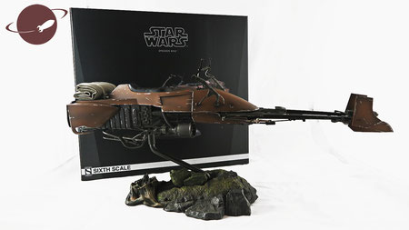 Sideshow 1/6 Speeder Bike Star Wars Episode 6 Scout Trooper Zubehör Review FANwerk