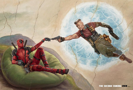 Deadpool 2 Film Poster Review Wade Wilson X-Force Cable