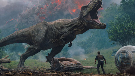 Jurassic World das gefallene Königreich Poster Christ Pratt Justin Smith Bryce Dallas Howard
