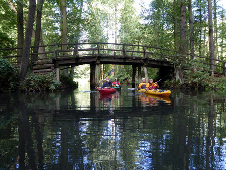 2015, Sept., Brücke über den Semisch/Oberspreewald