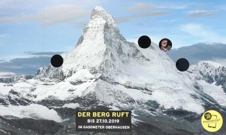 Oktober 2019, Ausstellung Gasometer Oberhausen