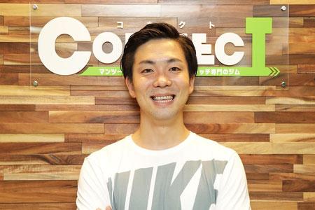 コネクト代表 林友輝