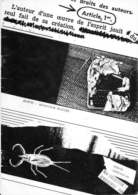 couverture du livre de SERVIN