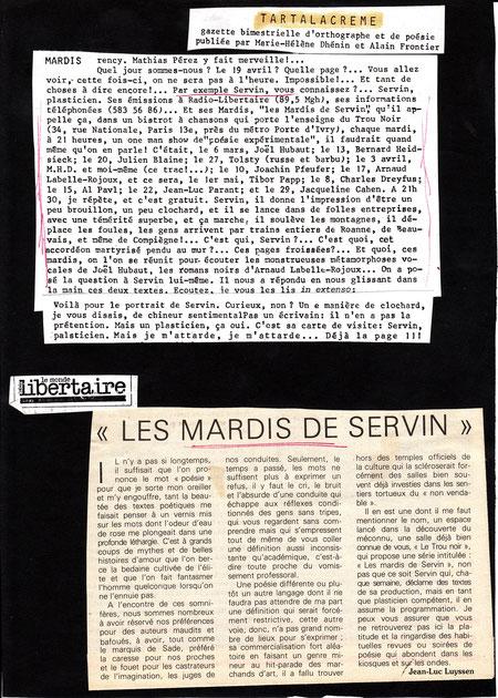 Page extraite des dossiers de SERVIN