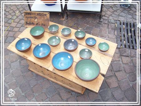 "Keramikwerkstatt ""Ton und Töne"" Musikinstrumente aus Ton,  ""Schüssel-Musik"" - Tonklangschalen mit glockenartigem Klang"
