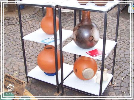 "Keramikwerkstatt ""Ton und Töne"" Musikinstrumente aus Ton, Udus,"
