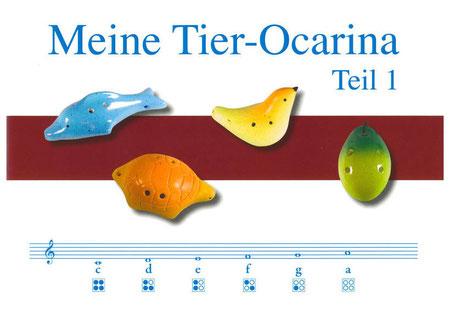 Noten für die 4-Loch Okarina von Rotter (c) Hans Rotter mit frdl. Genehmigung