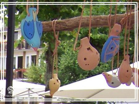 """Keramikwerkstatt """"Ton und Töne"""" Musikinstrumente aus Ton, Okarinas,"""