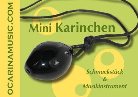Deckblatt Okarinanoten Mini Karinchen