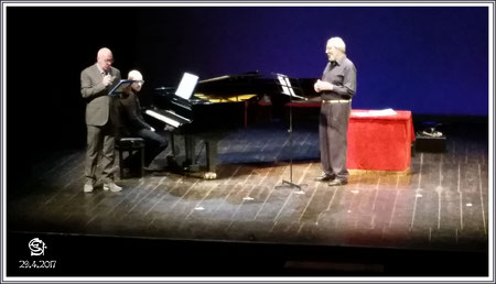 29.4.2017 Abendkonzert im Theater von Budrio, Italien