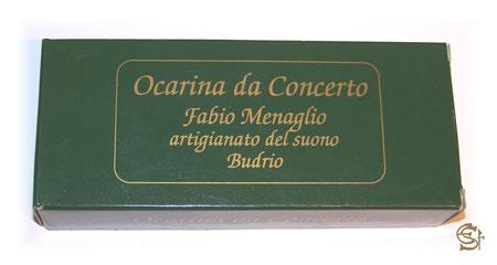 Karton der Ocarina di Budrio