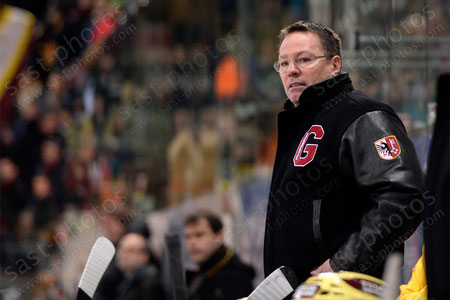 Trainer Chris McSorley (Servette)