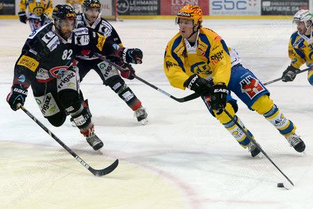Marcus Paulsson (R. Davos) gegen Michael NGoy (Fribourg)