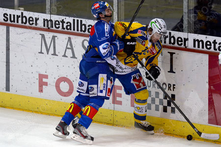 Beat Forster (R. Davos) gegen Luca Cunti (ZSC)