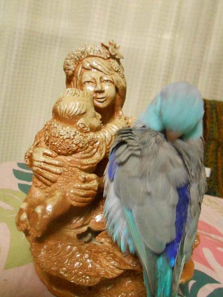 美術家立花雪 YukiTachibana 彫塑 飛んでるベイビー 炎と楽園のアート