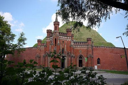 Kosciuszki heuvel en kapel