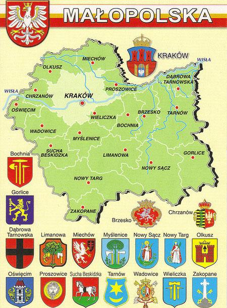Malopolska ( Klein Polen )