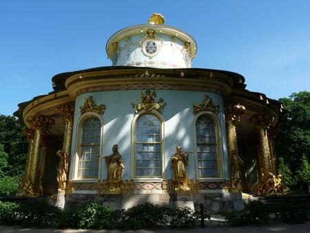 Chinese paviljoen en park Sanssouci