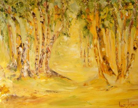 """""""Liebermann's Traum""""  Ölbild 100B x 80H cm"""