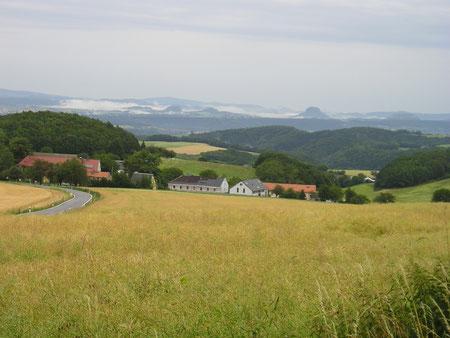 Blick ins Elbsandsteingebirge. Foto: (c) G. Niggemann-Simon