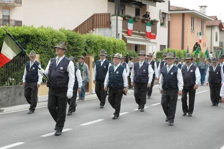 Il Coro sfila a Bassano
