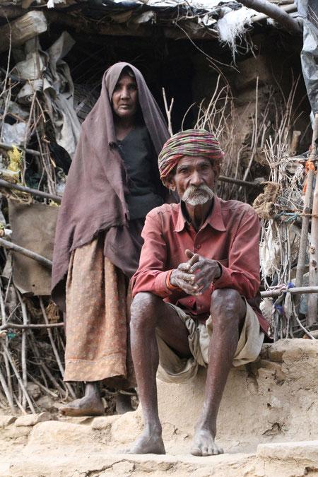 Familie in Ranakpur