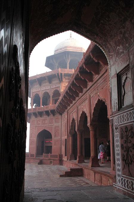 auch am Taj Mahal