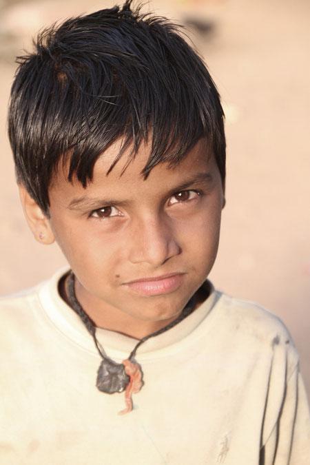 Junge in Ranakpur