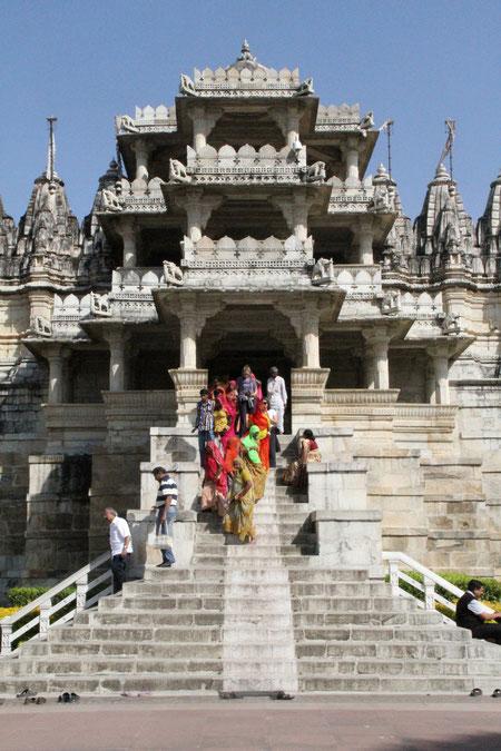tempel in Ranakpur