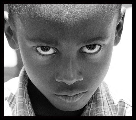 Junge in Ghana