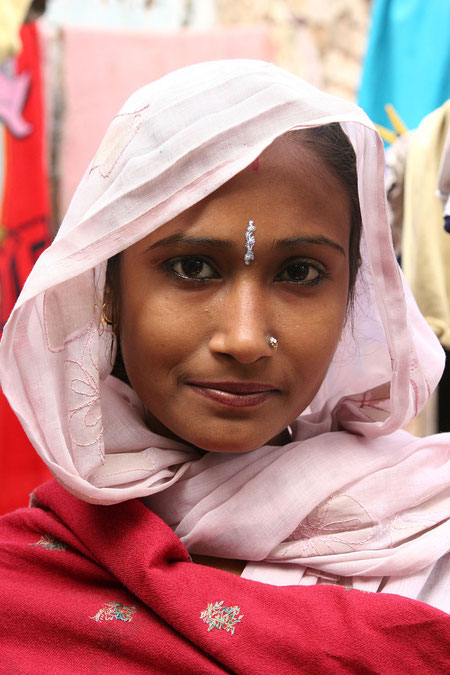 Frau in Dehli