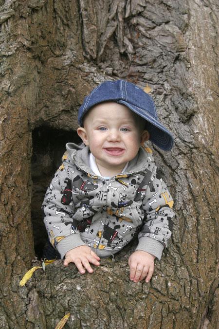 Luis im Baum