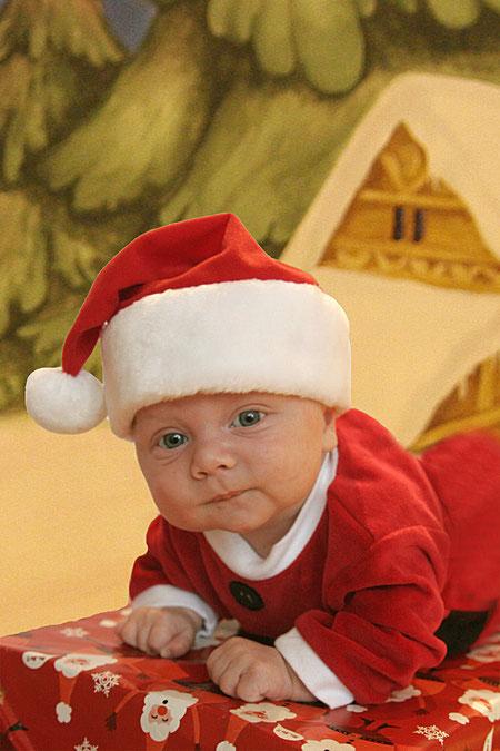 Weihnachtsmann zu Hause