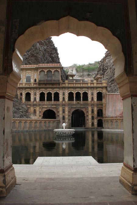 Teich im Tempel