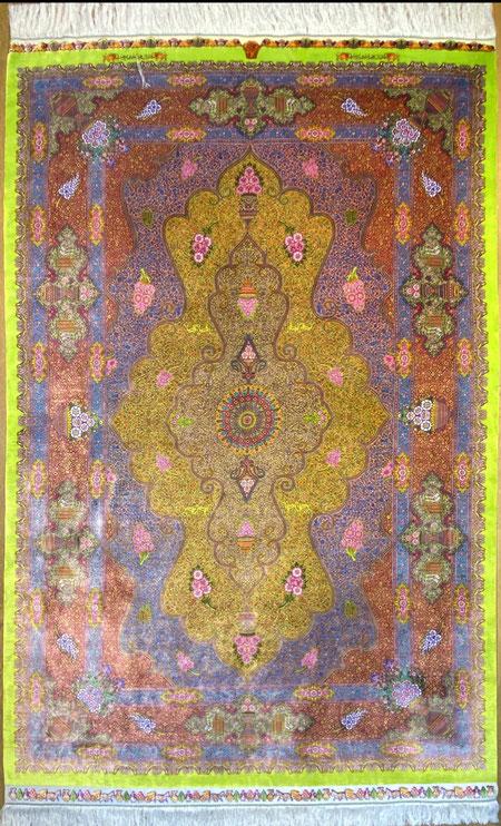 QUMsilk AMIRIZADEH工房 ドザールサイズ 約200x140