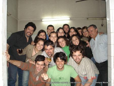 Una generación especial, y una alumna inolvidable, por siempre Mariana...