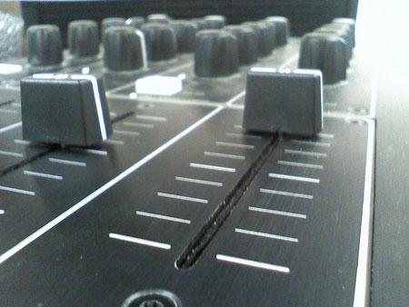 DJ Mischpult Fader