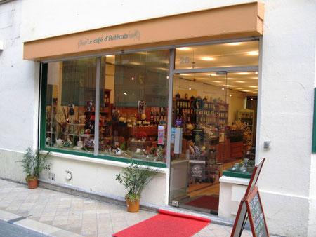 Le café d'Artémis (Photo M. Depecker)