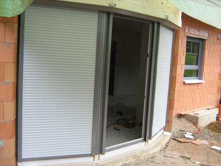Baustellenfotos thomas weber fenster und t ren - Fenster mit vorbaurolladen ...