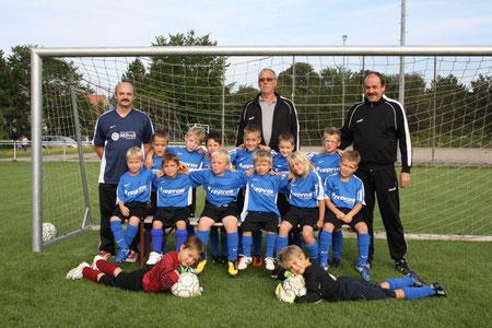 Mannschaft und Trainer Saison 2011/2012