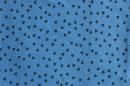 Dreiecke (blau)