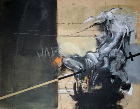 Acrylique sur toile Dim:114cmx146cm