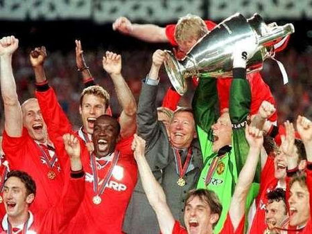 Champions-League-Sieger 1999 Manchester United