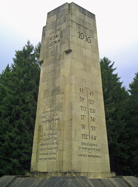 Verdun Höhe 304