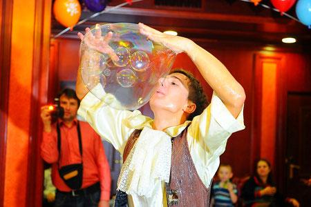 мыльное шоу для детей в Москве