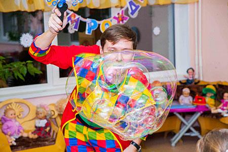 шоу мыльных пузырей заказать москва цены видео